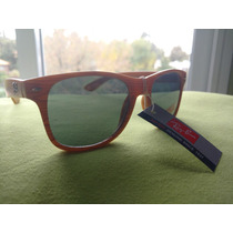 Ray Ban Wayfarer Polarized Madera Rb2140