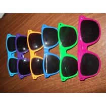 Anteojos Gafas - Lote Por 6 Uniodades - Colores Surtidos
