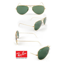 Anteojos De Sol Ray Ban Aviator Modelo 3025 Clásico (verde)