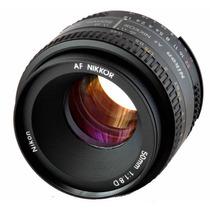 Lente Nikon Af 50mm 50 Mm F/1.8d 1.8 Garantía Y Envío Gratis