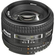 Lente Nikon 50mm Af 1.4 D Nuevo Gtia