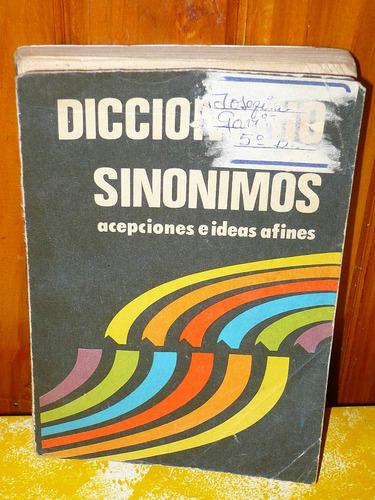 diccionario de sinonimos y antonimos el mundo: