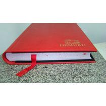 Libro De Oro Firma Registro Simil Cuero Efrain Ruival
