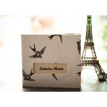 Caja Artesanal Porta Pendrive - Packaging