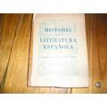 Historia De La Literatura Española - Guillermo Díaz-plaja -
