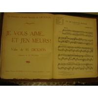 Colección Antigua De Partituras 1870 - 1940 Clásico Tango