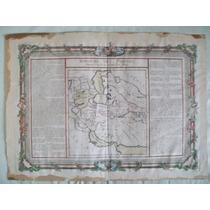 Mapa Antiguo 1701 Siglo Xviii Royaume Des Parthes Original