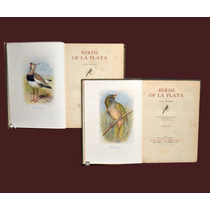 (ornitologia) ( Pajaros ) Birds Of The Plata W.hudson 1920