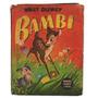 Bambi Walt Disney Pequeños Grandes Libros Editorial Abril (f