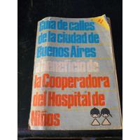 Antigua Guia De Calles Ciudad Bs.as Beneficio Cooperadora