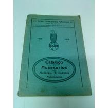 Catálogo De Accesorios Case 1919, Para Motores, Trilladoras