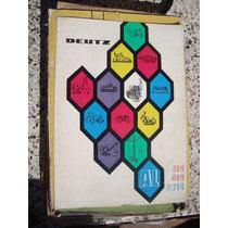Libro: Motor Deutz Al 514 614 Fl714 12 Pag.
