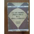 Las Cien Mejores Poesías De La Lengua Castellana-