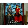 Frida Kahlo-afiche Original De Cine En Hule-tamaño Gigante-