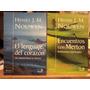 Lote 2 Libros De Henri Nouwen Meditación Edit. Bonum