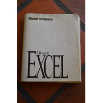 Microsoft Excel Manual Del Usuario Version 5.0 / 1994