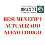 Resumen Efip 1 Universidad Siglo 21 Actualizado Nuevo Codigo