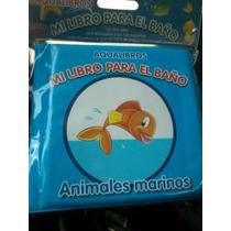 Libros Para Bebés, Baño De Bebes, Aqua Libros, Estimulación