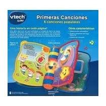 Libro Interactivo Para Bebes (mis Primeras Canciones) Vtech