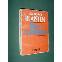 Libro Anticonferencias Isidoro Blaisten 1983 Primera Edicion