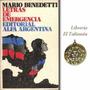 Letras De Emergencia De Mario Benedetti