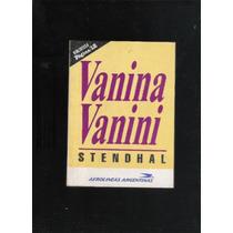 Stendhal Vanina Vanini Y Favores Que Matan