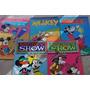 Lote X5 Mickey Ed Pincel Disney Revista Historieta Infantil