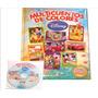 Libro Multicuentos De Colores Disney Incluye Cd-rom