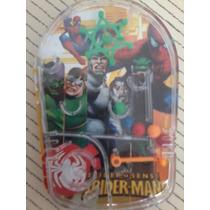 Cuento Y Juego Spiderman Mini Flipper De Mano Hombre Araña