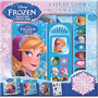 Disney Frozen Caja De 2 Libros Con Sonidos Y 1 Busca. Dial