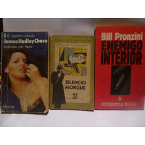 Lote X 3 Novelas Policiales, Chase/ Alexander/ Pronzini