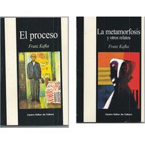 Lote Franz Kafka X 2 Libros El Proceso - La Metamorfosis