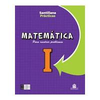 Matemática I Para Resolver Problemas Editorial Santillana