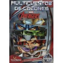 Libro: Multicuentos De Colores Marvel Avengers Barcelbaires