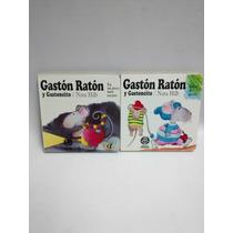 Lote Dos Libros Gaston Raton Y Gastoncito