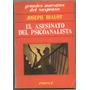 El Asesinato Del Psicoanalista / Joseph Bialot