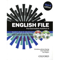 English File (3/ed.) Pre-intermediate - Multipack B Con Cd
