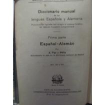 Libreriaweb Diccionario Manual Español - Aleman