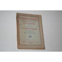 Mp Mussorgski - Kovantscina - Libro En Italiano