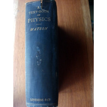 A Text Book Of Physics Watson Inglés Envío Gratis Mendoza