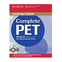 Complete Pet Workbook Without Answer Cambridge