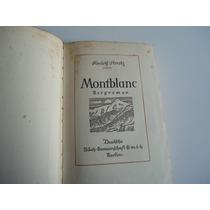 Montblanc Bergroman-rudolf Stratz