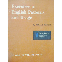 Exercises In English Patterns And Usage By Ronald Mackin 1