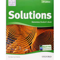Solutions Elementary - Student S Book 2da Ed. - Oxford