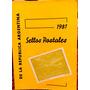 Catalogo Sellos Postales De Argentina 1857 - 1981