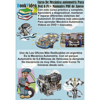 Mecánica Automotriz + Curso En Video De Regalo