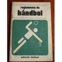Reglamento De Tenis - Handbol - Pelota Al Cesto - Ed Stadium