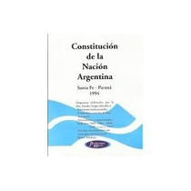 Constitucion De La Nacion Argentina De 1994 Caballito Sur