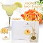 Set Difusor Perfume Biogreen: Jengible, Limón Y Rosas 110 Ml