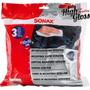 Sonax Microfibras Premium - Pack X 3 - Highgloss Rosario